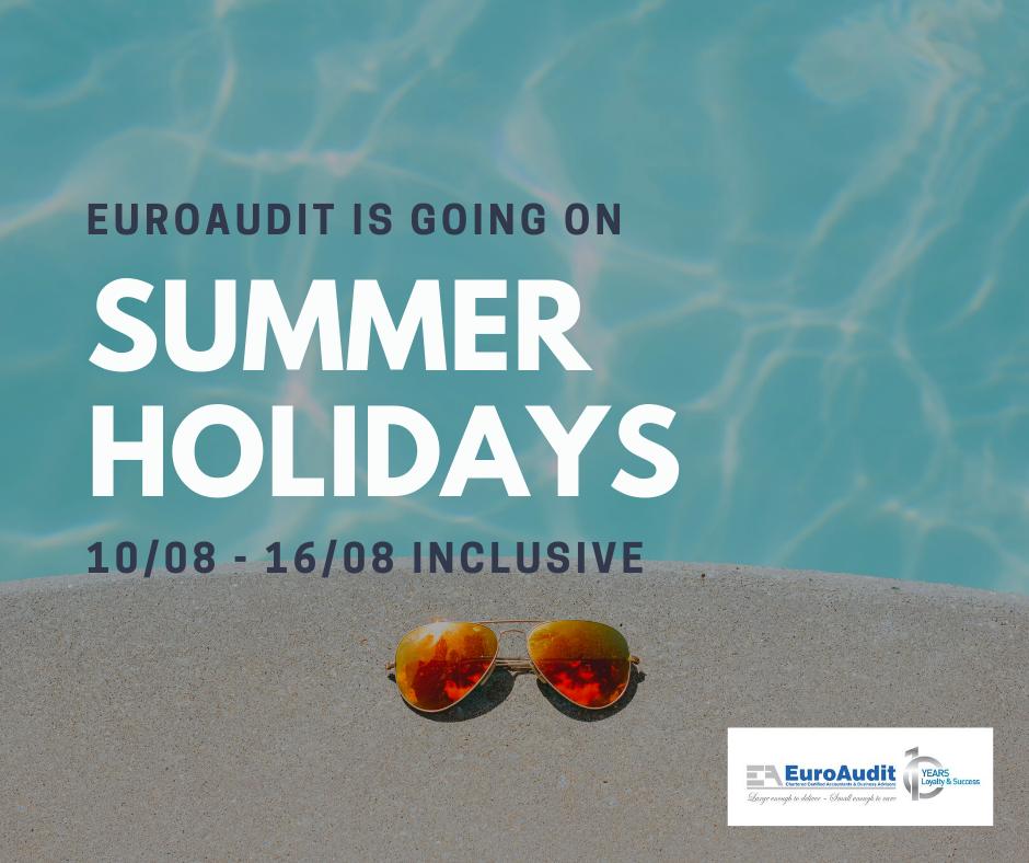 EuroAudit Summer Holidays 2020